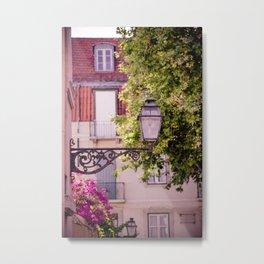 Lisbon Lamp Metal Print