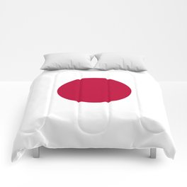 Classic Civil and state flag and ensign of Japan Comforters