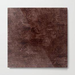 Fudgesickle Oil Painting Color Accent Metal Print