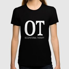 Occupational Therapy Graphic T-shirt T-shirt