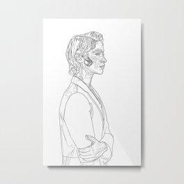 Melanie Scrofano Metal Print