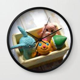 Toys - Basket Wall Clock