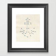 Connect the Dots #2 Framed Art Print