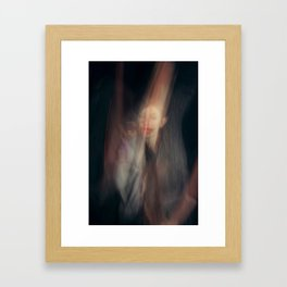 Hommage à F.Bacon Framed Art Print