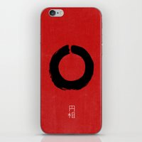buddhism iPhone & iPod Skins featuring ENSO IN JAPAN by THE USUAL DESIGNERS
