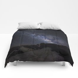 Milkyway at the mountains. Scorpius and Sagitarius Comforters