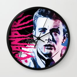 Deanpire (James Vampire) Wall Clock