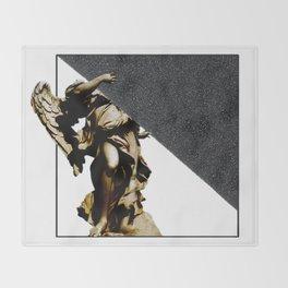 SILKINESS  -   V.white Throw Blanket
