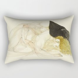 Salvador and Raphael Rectangular Pillow