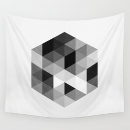 Geo Hex 02. Wall Tapestry