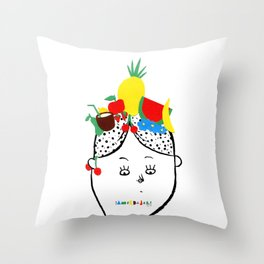 Carmen Miranda Throw Pillow