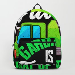 Garbage Day - Gift Backpack