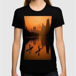 Li River in Guilin China T-shirt