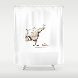 Tomcat/ Muskelkater Shower Curtain