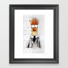 Beaker  Framed Art Print