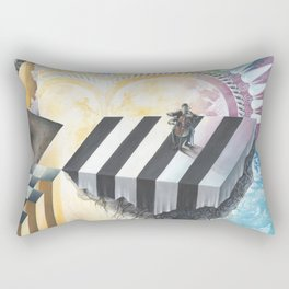On The Other Side Of Wastelands - Skyward Rectangular Pillow