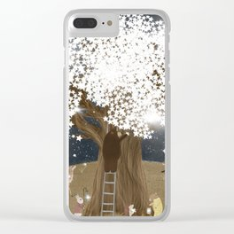 the starlight tree Clear iPhone Case