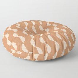 Gwynne Pattern - Desert Orange Floor Pillow