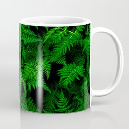 Deep Forest Ferns Coffee Mug