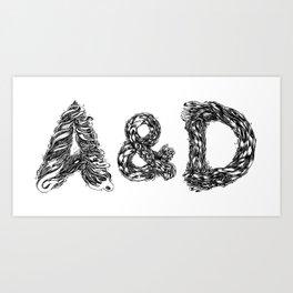 A&D Art Print