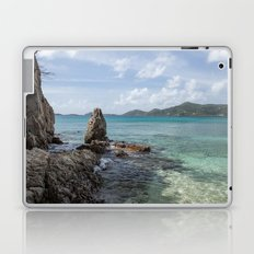 Caribbean Beach Photograph Laptop & iPad Skin