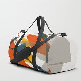 Abstract Bird Duffle Bag