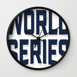 CLEVELAND INDIANS WORLD SERIES 2016 Wall Clock