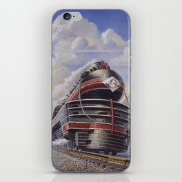Lehigh Valley Railroad - The John Wilkes iPhone Skin