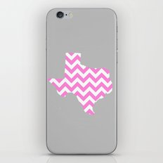TEXAS {PINK} iPhone & iPod Skin