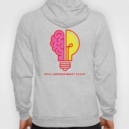 Make America Smart Again Science Brain Hoody