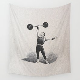 Strong man Wall Tapestry