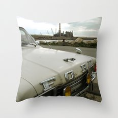 Travel Away on a Rainy Day Throw Pillow