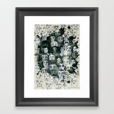 The elected ones Framed Art Print