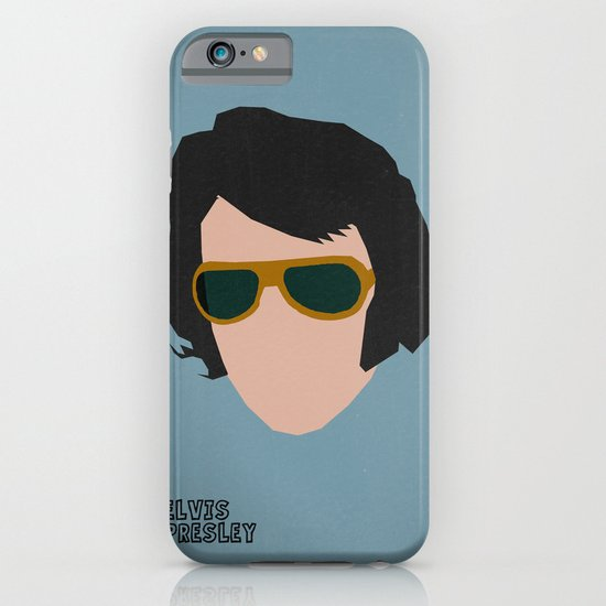 Rock Legends - Elvis Presley iPhone & iPod Case