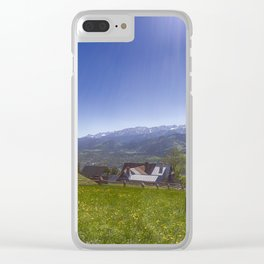 Tatra Mountains. Clear iPhone Case