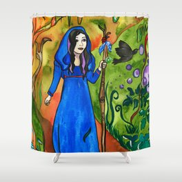 Avalon Forest Shower Curtain