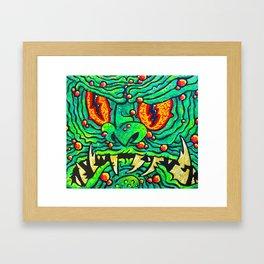 GLORT!! Framed Art Print