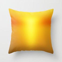 Hot Orange Throw Pillow