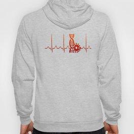 Biologist Heartbeat Hoody
