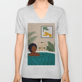 Stay Home No. 2 Unisex V-Neck