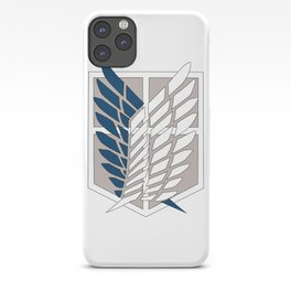 Wings of Liberty Atack on titan iPhone Case