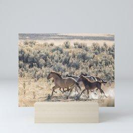 Running Mustangs, No. 1 Mini Art Print