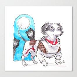 DogDays19 Wylie Canvas Print