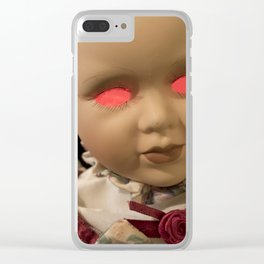 Dolly in the Attic III Clear iPhone Case