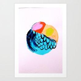 Flyball Art Print