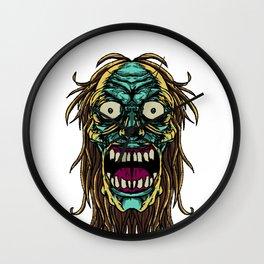 Zombie Monster Beast Duppy Phantom Zombieland Gift Wall Clock