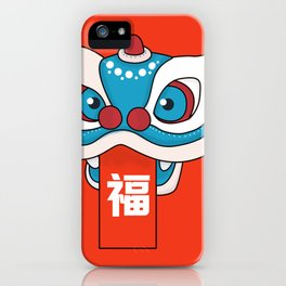 Happy Chinese New Year - Lion Dance iPhone Case