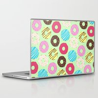 donut Laptop & iPad Skins featuring Donut by Charlotte Lucy