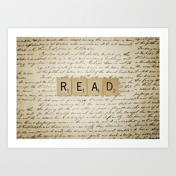 Bookaholic Art Print