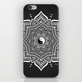 February Mandala II 2018 iPhone Skin
